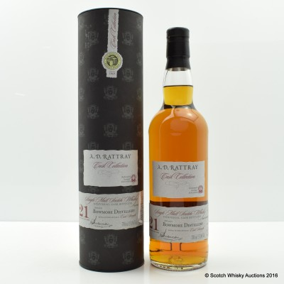 Bowmore 1991 21 Year Old A.D Rattray