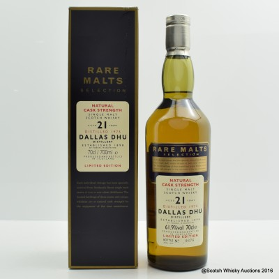 Rare Malts Dallas Dhu 1975 21 Year Old