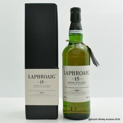 Laphroaig 15 Year Old Pre Royal Warrant