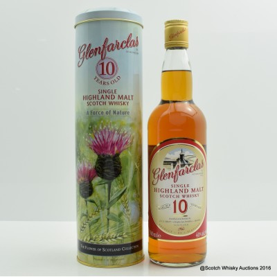 Glenfarclas 10 Year Old Flower of Scotland Collection
