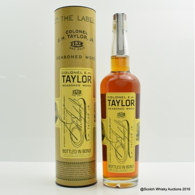 Colonel E.H Taylor Seasoned Wood 75cl