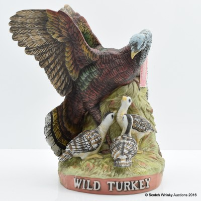 Wild Turkey 101° Proof 8 Year Old Ceramic Decanter 75cl