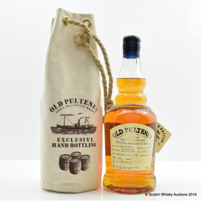 Old Pulteney 1995 14 Year Old Single Cask #2851