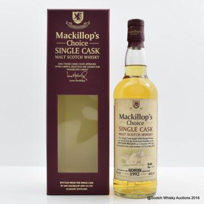 Auchroisk 1992 Mackillop's Choice