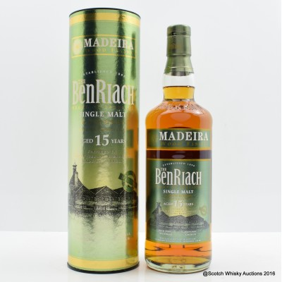 BenRiach 15 Year Old Madeira Wood