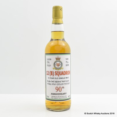 Highland 14 Year Old 12(B) Squadron 90th Anniversary
