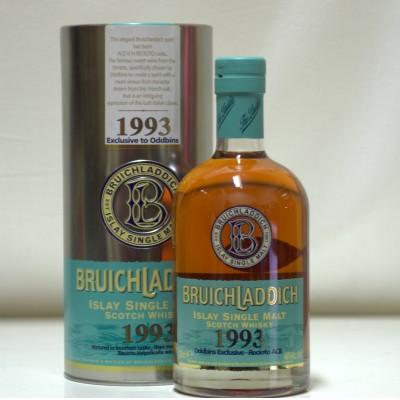 Bruichladdich 1993 Oddbins Exclusive