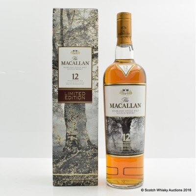 Macallan 12 Year Old Limited Edition Taiwan Exclusive