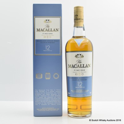 Macallan 12 Year Old Fine Oak