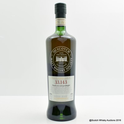 SMWS 33.143 Ardbeg 2007 8 Year Old