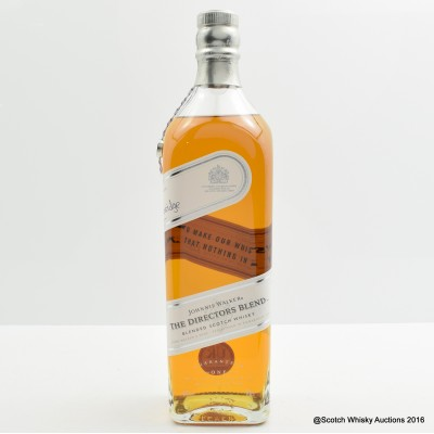 Johnnie Walker The Directors Blend 2013 Release with Letter of Authenticity