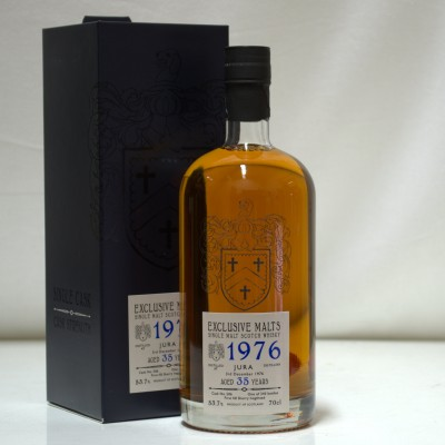 Jura 1976 35 Year Old Cask Strength Creative Whisky Co
