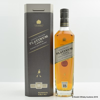 Johnnie walker 18 Year Old Platinum