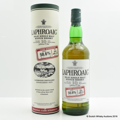 Laphroaig 10 Year Old Cask Strength Batch #4 75cl