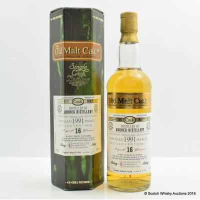 Ardbeg 1991 16 Year Old Old Malt Cask