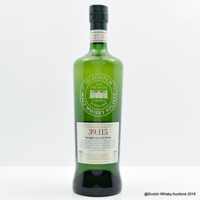 SMWS 39.115 Linkwood 2005 10 Year Old
