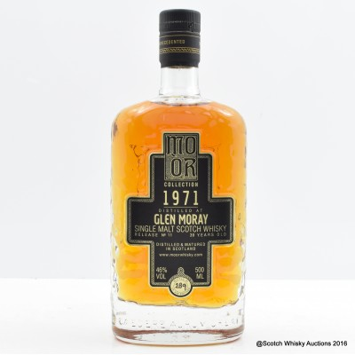 Glen Moray 1971 39 Year Old Mo Or Collection 50cl