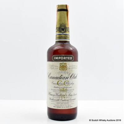 Canadian Club 6 Year Old 75cl