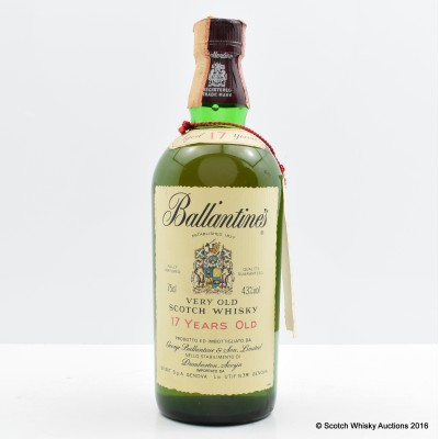 Ballantine's 17 Year Old 75cl