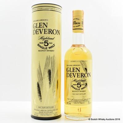 Glen Deveron 5 Year Old 75cl
