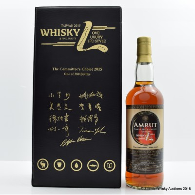 Amrut 2011 Single Port Cask #2714 Whisky L Committee's Choice 2015