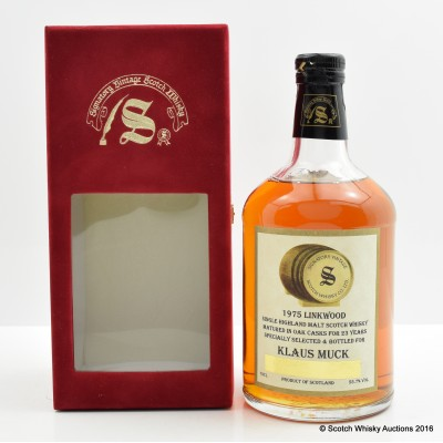 Linkwood 1975 23 Year Old Private Bottling Signatory