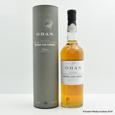 Oban 32 Year Old 2002 Release