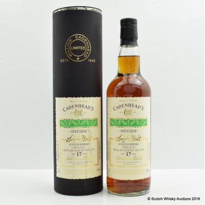 Macallan-Glenlivet 1987 17 Year Old Cadenhead's