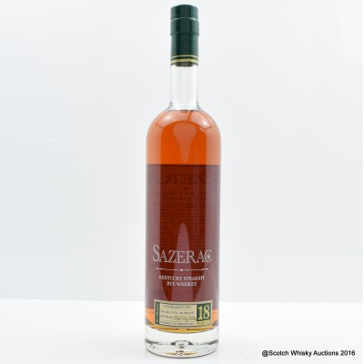Sazerac 18 Year Old Spring 2016 Release 75cl