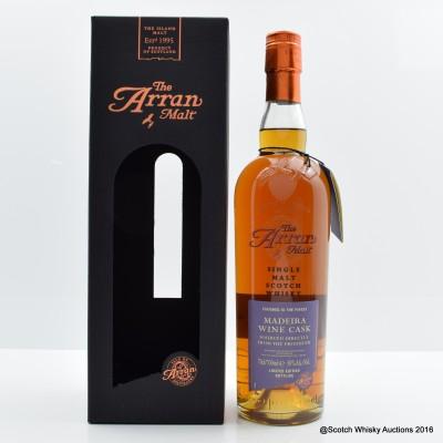 Arran Madeira Wine Cask Finish