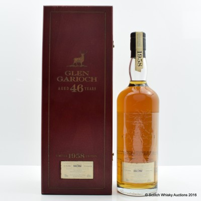 Glen Garioch 1958 46 Year Old Limited Edition Bottling