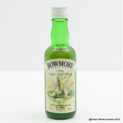 Bowmore Sherrif's Mini 1 2/3 Fl Oz