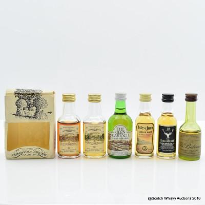 Assorted minis x 6 including Balvenie Founder's Reserve