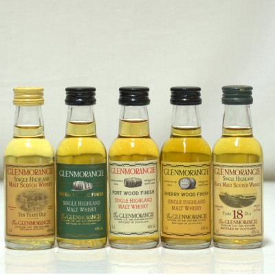 Glenmorangie 5 X Assorted Miniatures