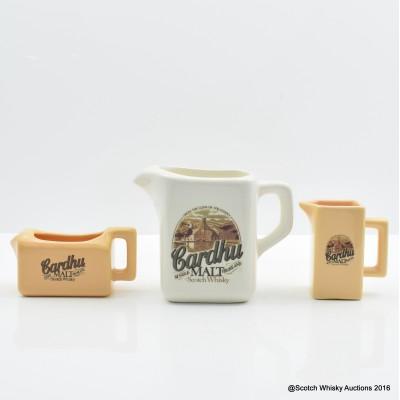 Cardhu water jugs x 3