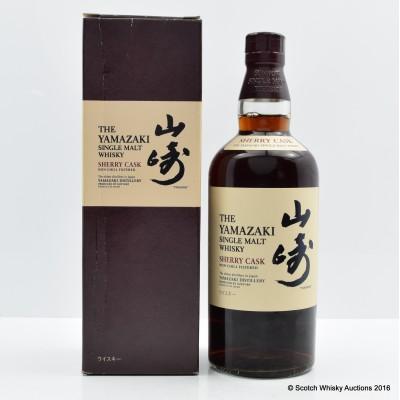 Yamazaki Sherry Cask 2010 Release