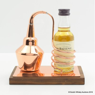 Balvenie Triple Cask Mini 5cl & Miniature Copper Still