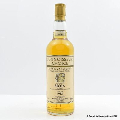 Brora 1982 Connoisseurs Choice