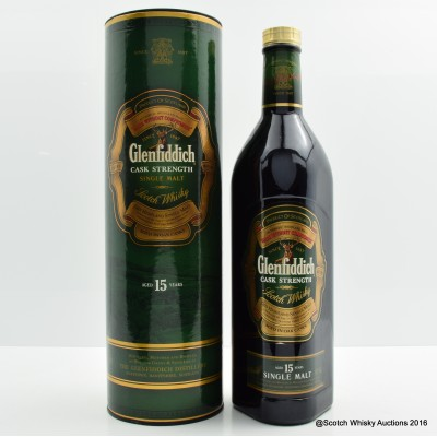 Glenfiddich 15 Year Old Cask Strength 1L