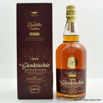 Glenkinchie Distillers Edition 1986 1L