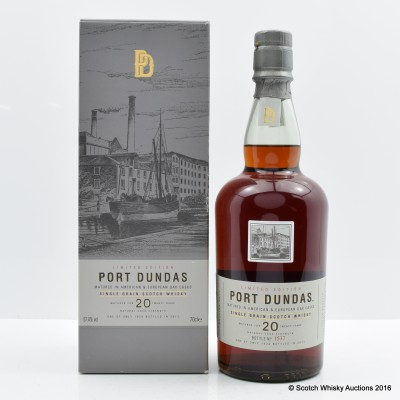 Port Dundas 20 Year Old 2011 Release