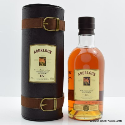 Aberlour 15 Year Old in Leather Holster