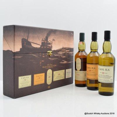 Classic Islay Collection 2005 Release 3 x 20cl