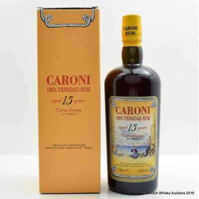 Caroni 1998 15 Year Old Trinidad Rum