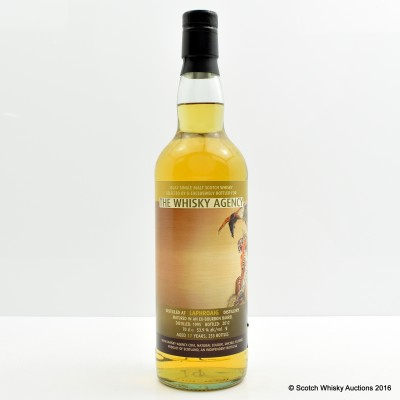 Laphroaig 1995 17 Year Old The Whisky Agency