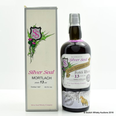 Mortlach 1997 13 Year Old Silver Seal