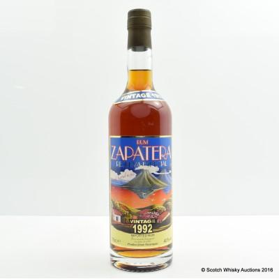 Zapatera 1992 Single Barrel Rum