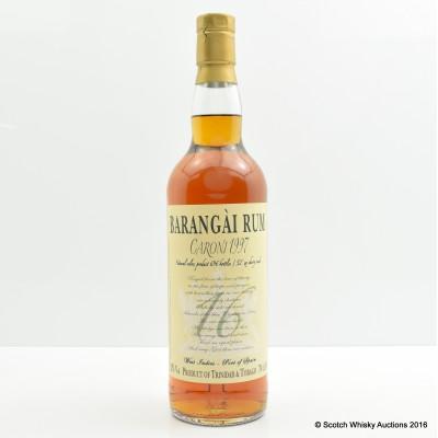 Caroni 1997 Barangai Rum