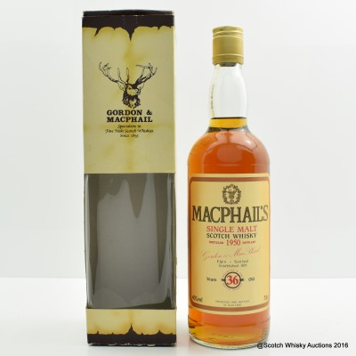 Macphail's 1950 36 Year Old 75cl