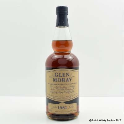 Glen Moray 1981 Single Cask #3661